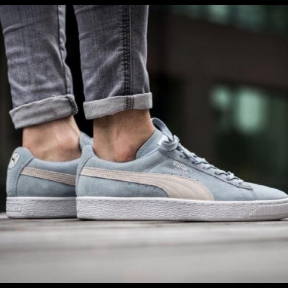 Puma Shoes | Puma Suede Classic Blue